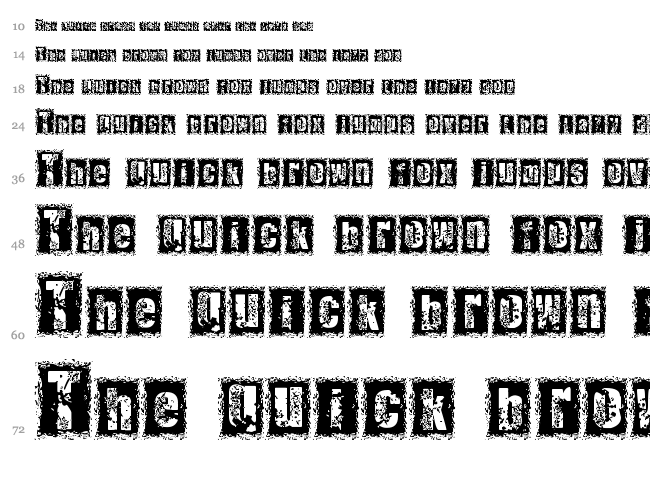 1 Dimencion font waterfall