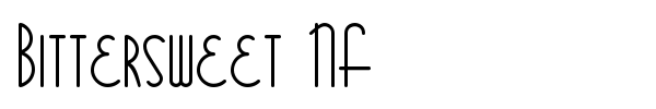 Bittersweet NF font preview