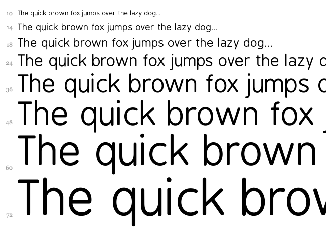 BPreplay font waterfall