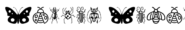 Шрифт Insect Icons