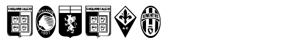 Calcio font preview