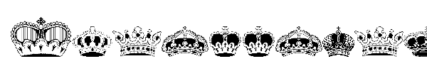 Шрифт Intellecta Crowns