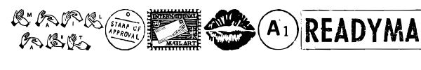 MailArt Graphics font preview