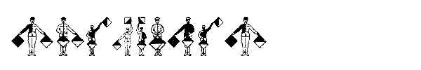 Шрифт SignFlags