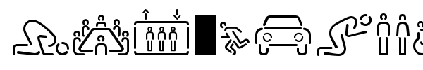 Шрифт Siruca Pictograms