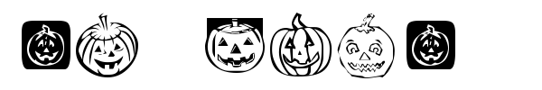 Шрифт KR Pick A Pumpkin